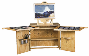 BEST URANIA'S DESK Pastelist's Art Desk/Easel   - Click to enlarge