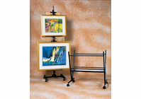 RICHESON Black Steel Print Rack