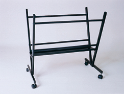 Black Steel Print Rack - Click to enlarge