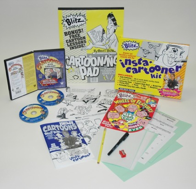 Blitz Special Insta-Cartooner Kids' Drawing Kit