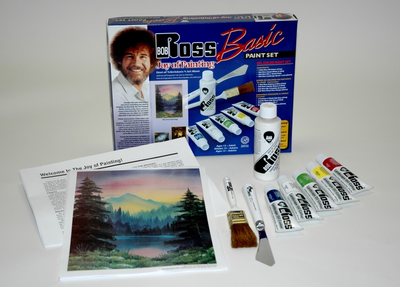 BOB ROSS BASIC PAINT SET - Click to enlarge