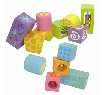 Boikido Musical Boikido Blocks - 12 Pieces