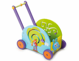 Boikido Push & Play Rabbit Wagon - Click to enlarge