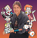 Bruce Blitz CARTOONING DVD Library (2-DVD set, 4-1/2 hours)