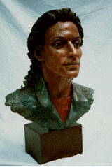 Bruno Lucchesi - Sculpting in Terracotta: Sculpting the Portrait (105 minutes, Terracotta) DVD - Click to enlarge