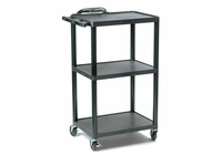 "Buhl Hamilton Plastic AV Cart Adjustable from 16"" to 42"""