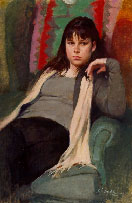 BURTON SILVERMAN (DVD): Portrait of a Young Girl: Jenny (3.75 hour, Oil) - Click to enlarge
