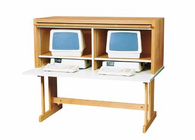 Computer/Security Table - two station
