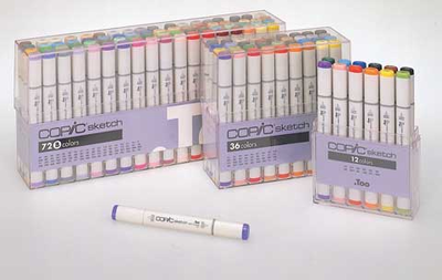 COPIC SKETCH Marker Sets - Click to enlarge
