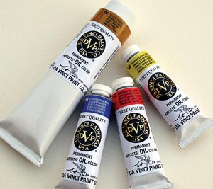DA VINCI Artists� Oil Color 40.6ml size - Cadmium Orange