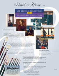 Daniel Greene 20 Brush Professional Portraiture Silver Brush Master Set - Click to enlarge