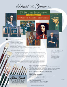 Daniel Greene Brush Master Set - 27 brushes - Click to enlarge