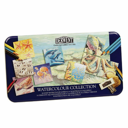 Derwent Watercolour Collection 36 Tin