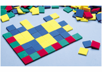 DIDAX Color Tiles, Plastic
