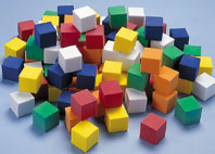 Didax Easyshapes Color Cubes