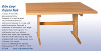 Diversified Woodcrafts Extra Large Pedestal Table