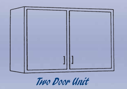 Double Door Unit - Wall Mounted Cabinet-11