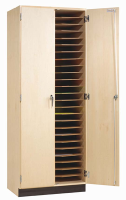 Drafting Board Storage Cabinet