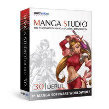 E Frontier Manga Studio 3 Debut   Windows