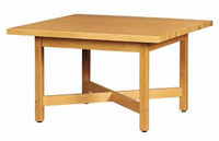 """Elementary Four-Student Table - 48""""x48"""""""