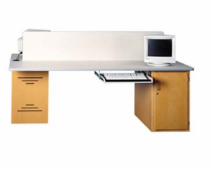 Four-Station Tech Table - Base Unit