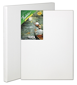 Fredrix 100% PURE LINEN (GREEN LABEL) Stretched Canvas - 18