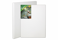 "Fredrix 100% PURE LINEN (GREEN LABEL) Stretched Canvas - 18"" x 24"""