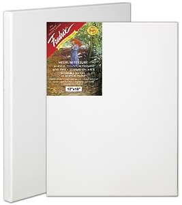 Fredrix red label 11� x 14� stretched artist Canvas - Click to enlarge
