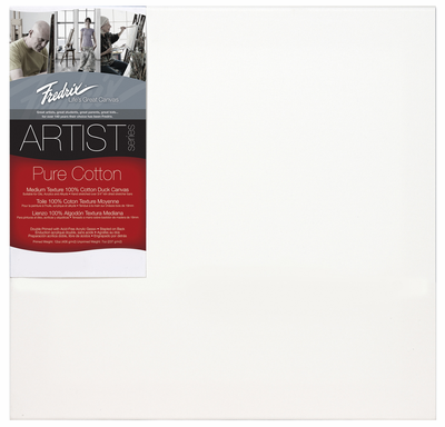 Fredrix red label 12� x 12� stretched artist Canvas