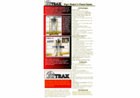 Fullsize 64 Sign Maker's Package w/SAWTRAX 10' wide frame