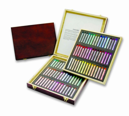Gallery Artist 60 pc Extra Fine Pastel in Wooden Case