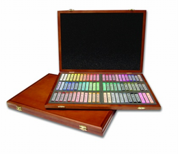 Gallery Oil Pastel 72 Color Set in Wooden case