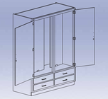 General and Tool Storage Cabinet