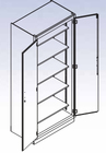 General Storage Cabinet - 5 shelves