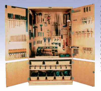 "General Tool Storage Cabinet – 48"" w/Tools"