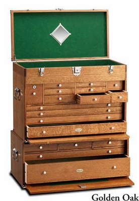 GERSTNER USA 2613 (92-XL) Pro�Series�I Tool & Hobby Chest & B2705 (B92-XL) Pro�Series�I Base COMBO - Click to enlarge