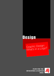 Graphic Design: What's in a Logo?  Video (VHS/DVD)