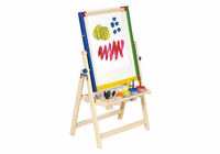 Guidecraft 4-in-1 Flipping Floor Easel
