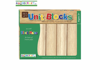 GUIDECRAFT 5 Pc Hardwood Unit Block Set