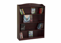 Guidecraft 6 Shelf Bookshelf Cherry
