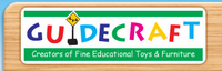 Guidecraft ALL-WOODEN Educational Toys & Kids Furniture