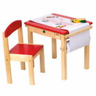 Guidecraft Art Table & Chair Set