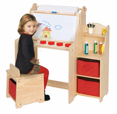 Guidecraft Artist Activity Desk - Click to enlarge