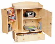 Guidecraft AV Storage Unit