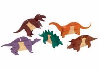 Guidecraft Block Mates Dinosaurs