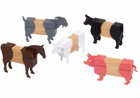 Guidecraft Block Mates Farm Animals