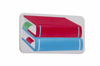 Guidecraft Books Red/Blue