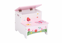 Guidecraft Butterfly Buddies Storage Step-Up