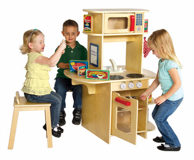 Guidecraft Café Play Kitchen - Click to enlarge