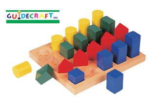 GUIDECRAFT COLORED GEO FORMS